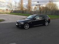 BMW E91 330D M SPORT ESTATE TOURING 245bhp (LCI FACELIFT MODEL) 2011 (61 REG), RARE! HUGE SPEC! 335d