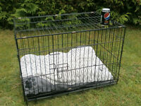 DOG CAGE,DOG CARRIER, PET BED 30X18 INCHES