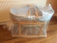 Baby Moses basket baby crib