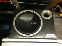 12 Inch Vibe sub with built in amp