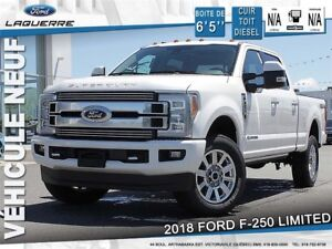 2018 Ford F-250 Limited