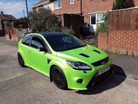 Ford focus rs replica st turbo