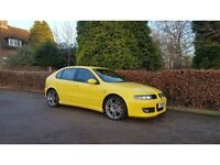 2004 SEAT LEON CUPRA R 1.8 TURBO BAM 225 BHP NATIONWIDE DELIVERY WARRANTY CARD FACILITY AVAILABLE