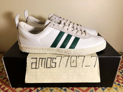 b63e27bcd87e Adidas Originals Trainer SPZL Supcol Sail White Green Leather BA7877 Men  Size 9