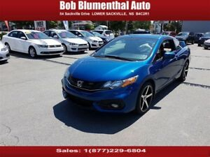 2014 Honda Civic Si 6-Sp NAVI New Tires/Brakes ($73 weekly, 0...