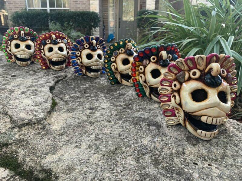 Aztec Death Whistle - Bone Colores