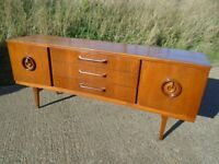Lovely Retro Teak Sideboard Danish / G-Plan Influence Fully Restored Delivery Available.