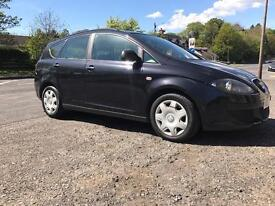 2007 SEAT ALTEA 1.6 XL REFERENCE *ONLY 66000 MILES**BARGAIN**