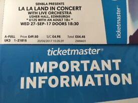 La La Land in Concert - Tickets for Edinburgh Show