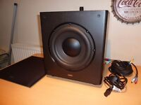 Acoustic Energy Radiance 8 Active Subwoofer - 200 Watts RMS - Black