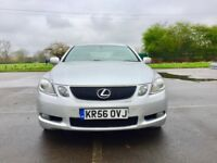 Hybrid 2006 Lexus GS 450 | Automatic | Hpi Clear | Leather Seats| SatNav| Full dealer service| Lexus