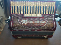 Ranco Supervox Accordion 120 bass with full MIDI