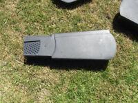 Universal Dry Verge Unit Cap Gable / Apex Roof Tile End