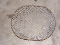 vintage steel wire potato basket for sale