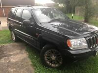 Jeep Grand Cherokee 2003 4ltr Spares or Repairs