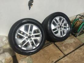 Vauxhall vivaro/Renault traffic alloy wheels