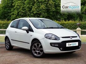 Fiat Punto, LOW miles, Full History, A/con,Start/stop,Bluetooth, £0 DEPOSIT AND ONLY £83 A MONTH
