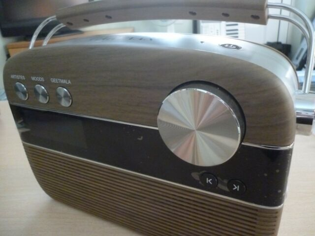 portable digital audio saregama carvaan lovely brown/silver,amazing 5000  evergreen bollywood songs   | in Stanmore, London | Gumtree