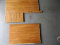 Pieces of Solid Wood Worktops