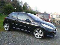 Peugeot 207S 79,000m MOT to Feb 2018 Part service history Recent full Service nearly new tyres