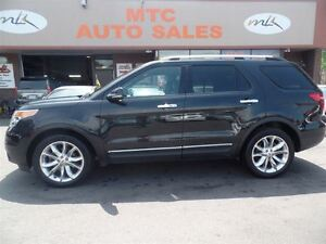 2012 Ford Explorer Limited, 7 PASSENGER, LEATHER, GPS, BACKUP CA