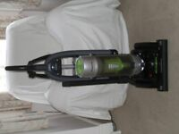 Panasonic upright bagless Hoover with accessories