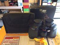 Job Lot 2 pairs boxed binoculars hardly used Praktica 8x30 Sunit 10x26