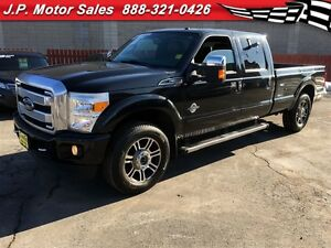 2013 Ford F-250 Lariat, Platinum, Automatic, Navigation, Leather