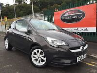 2015 15 Vauxhall Corsa 1.2 Sting 3 Door Petrol 5 Speed Manaul New Shape Ltd Edition!