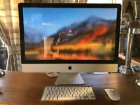 "iMac 27"" with wireless keyboard and Magic Mouse"