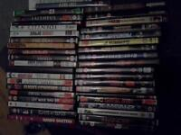 45 Dvds, various thriller and drama