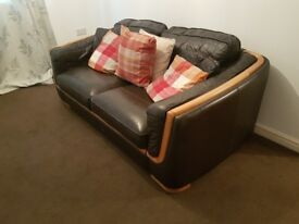 Matching Sofas and coffee table set.