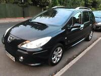 7 SEATER*** Diesel (55) 2005 Peugeot 307 2.0 HDI SW Estate - Towbar - 6 Speed - TV/MP3/USB/AUX