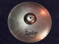 Various drum kit cymbals - crash / ride / hi hats