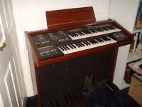 YAMAHA ELECTONE Electronic Keyboard/Organ (Model MC-200)