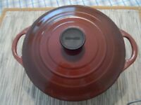 Le Creuset Pan and Lid