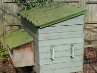 Handmade sturdy chicken coop for 4 hens