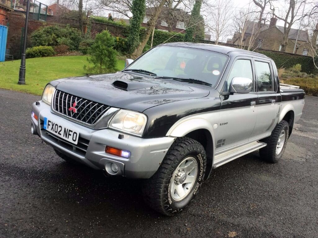 2002 MITSUBISHI L200 ANIMAL,2.5 TD,LWB,MANUAL,5 MONTHS MOT,
