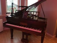 Baby grand Brinsmead & Sons piano for sale