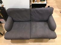 Comfy grey 2 person sofa