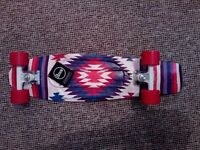 "Penny Nickel Original Holiday Series Cruiser Aztec - 7.5"" x 27"" Skateboard NEW- with tags"