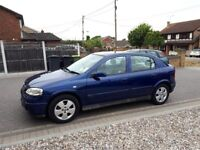 04 VAUXHALL ASTRA 1.6 AUTO, 45,000 MILES, FSH, ONE OWNER PLUS VAUXHALL, LOW MILEAGE AUTOMATIC,