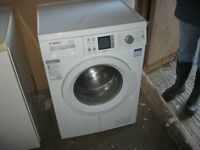 QUALITY WHITE 'BOSCH' WASHING MACHINE. 7KG EXXCEL A+++ GOOD CONDITION/WORKING ORDER. DELIVERY POSS