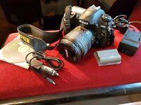 Nikon D200 with bits