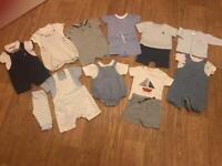 Baby boys summer bundle (3-6 months)
