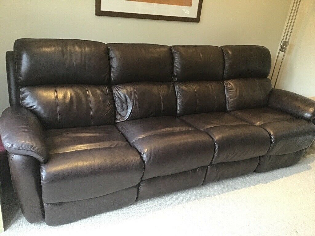 Terrific 4 Seater Leather Sofa In Chalfont St Peter Buckinghamshire Gumtree Uwap Interior Chair Design Uwaporg