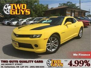 2015 Chevrolet Camaro 2LS SUPER KMS! AUTO 323HP!