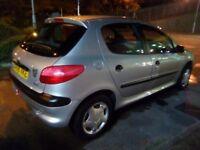 Cheap first car peugeot 206 1.4 5door