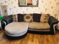 Large 3 seater chaise supreme sofa