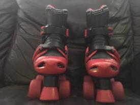 Kids Childrens Roller Boots Skates